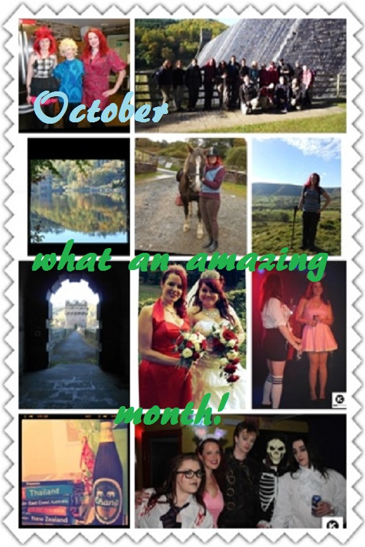 October, what an amazing month!
