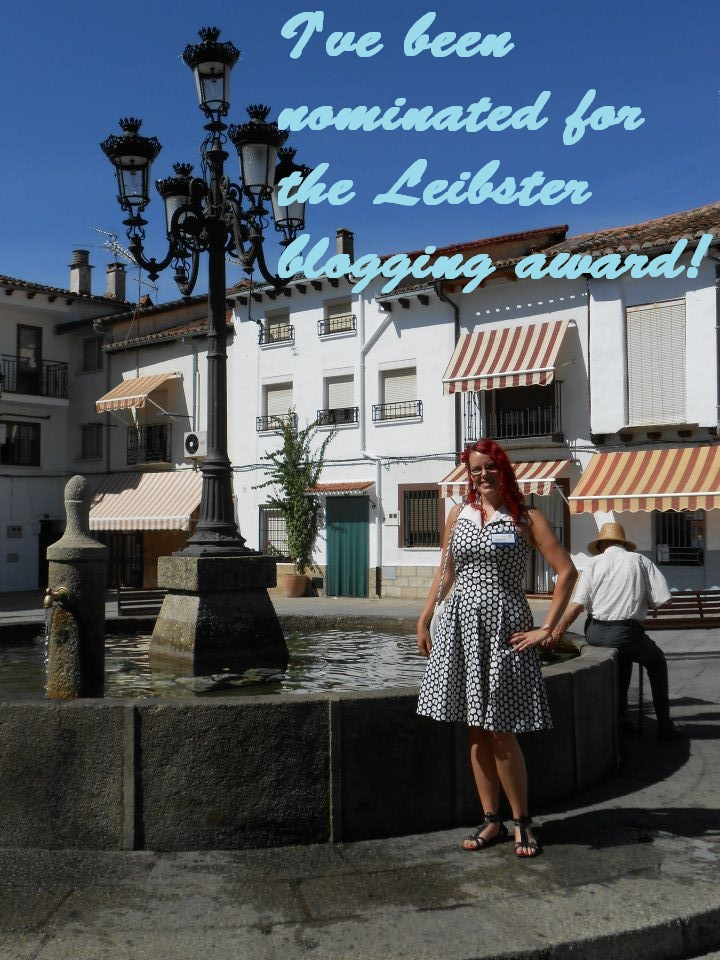 I've Been nominated for the Leibster Blogging award!