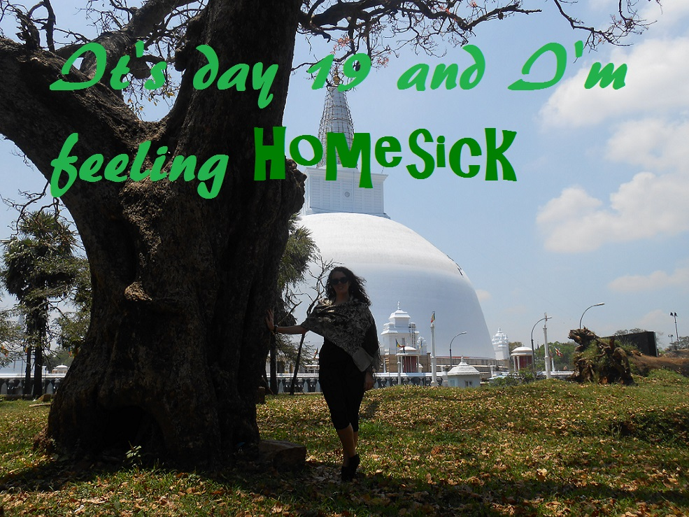 It's day 19 and I'm feeling homesick…