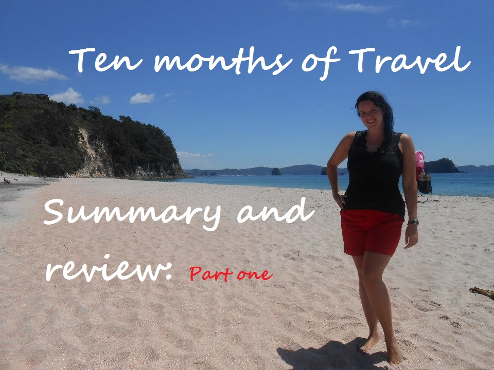 Ten Months of Travel: Summary and Review, Part One