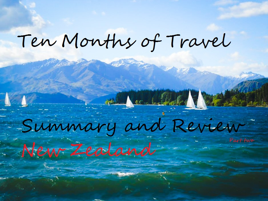 Ten Months of Travel: Summary and Review Part two