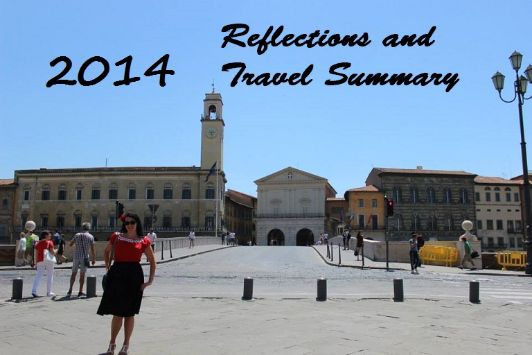 2014, Reflections and travel summary