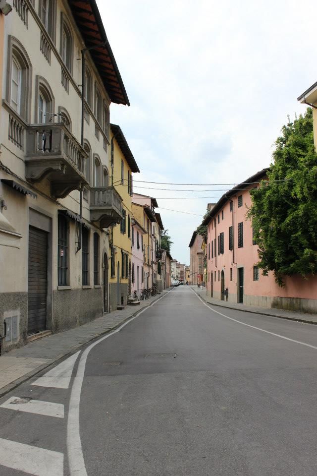 street view, Lucca