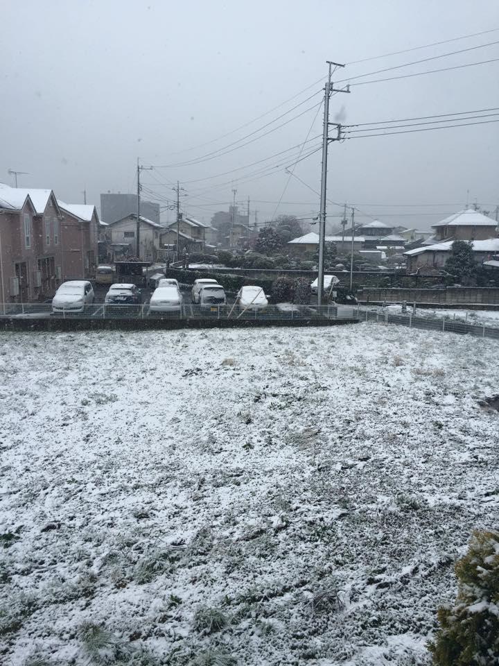 snow in nasushiobara