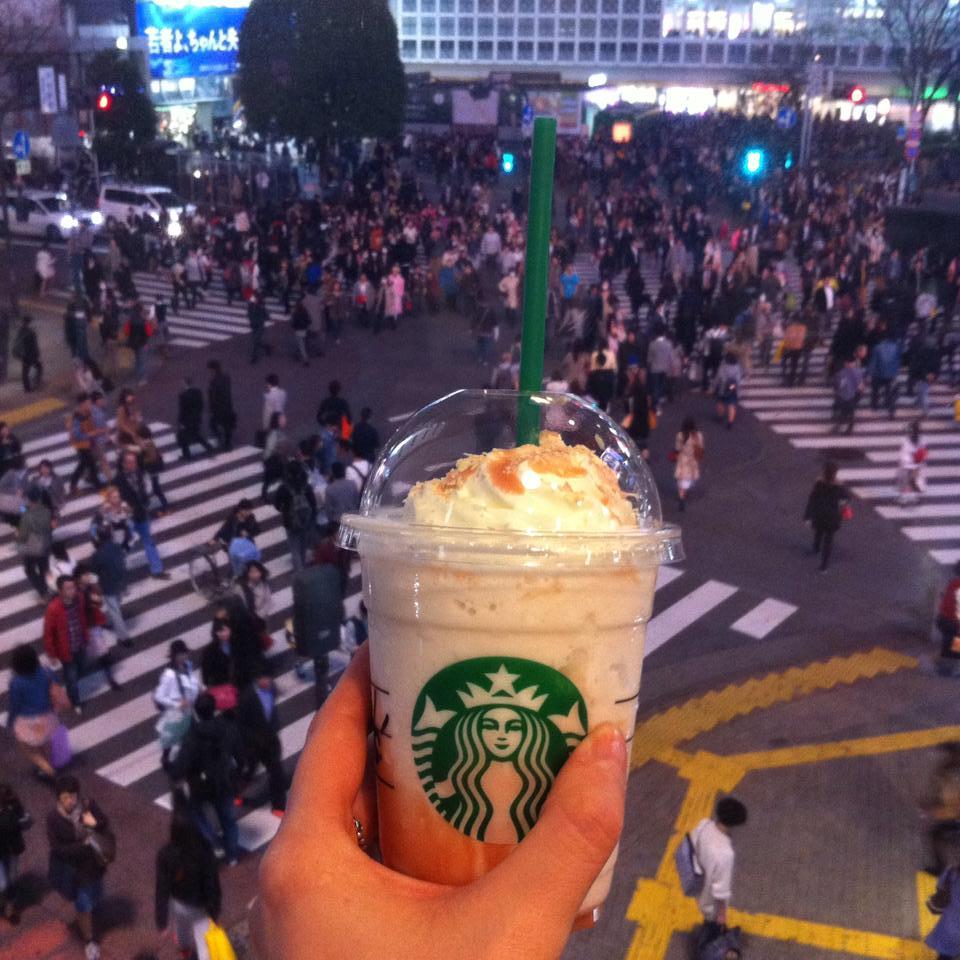 frappe shibuya crossing