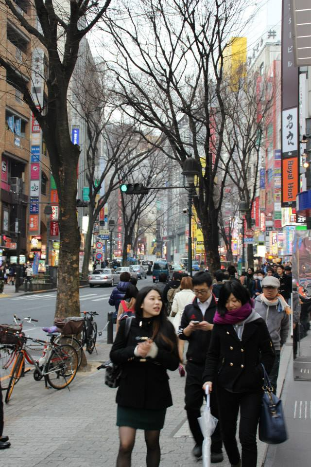 Tokyo, one of the world's biggest cities but also one of the safest.