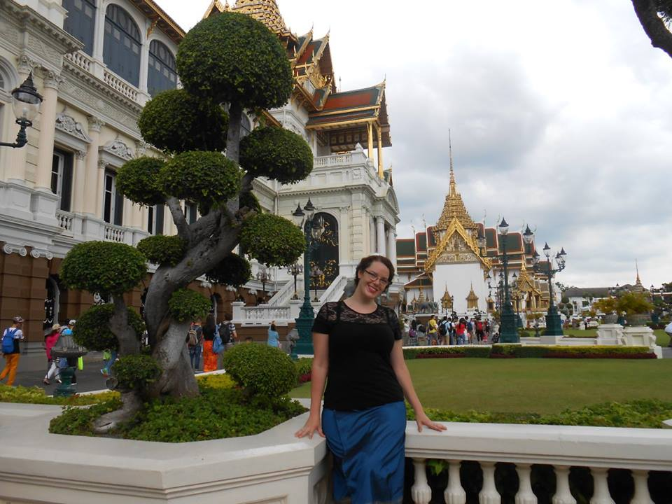 Just chilling at the absolutely beautiful Grand palace on a sunny day.