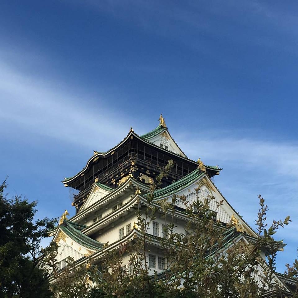 Beautiful Osaka castle