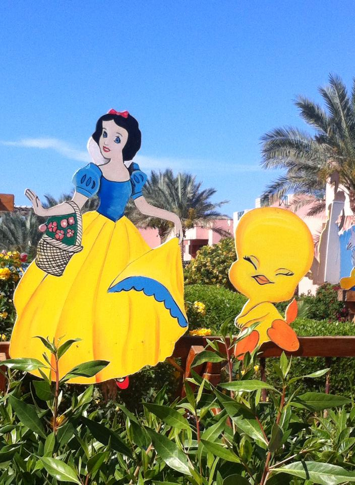 snow white and tweety