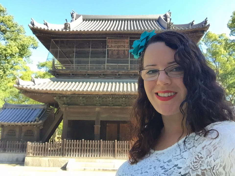 At Japan's first zen temple