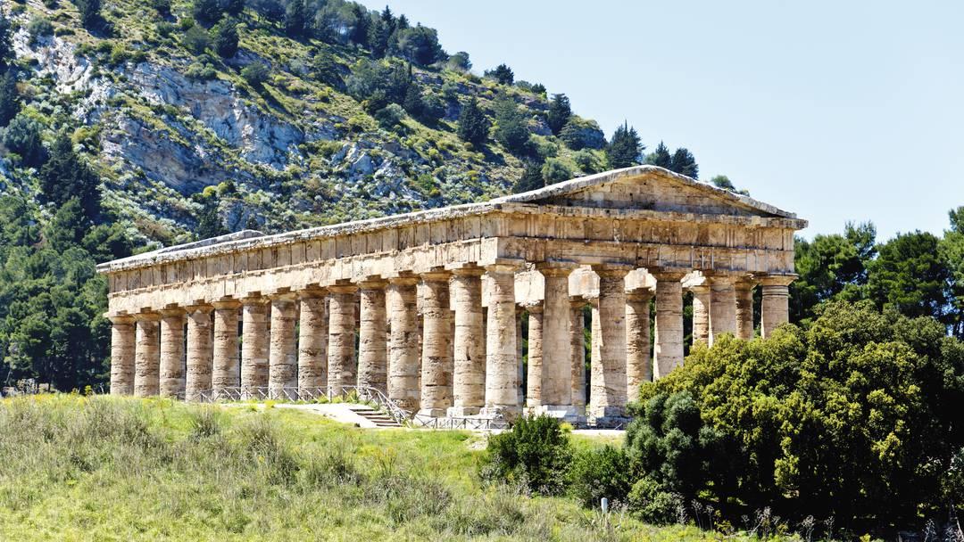 The Doric temple, Sicily