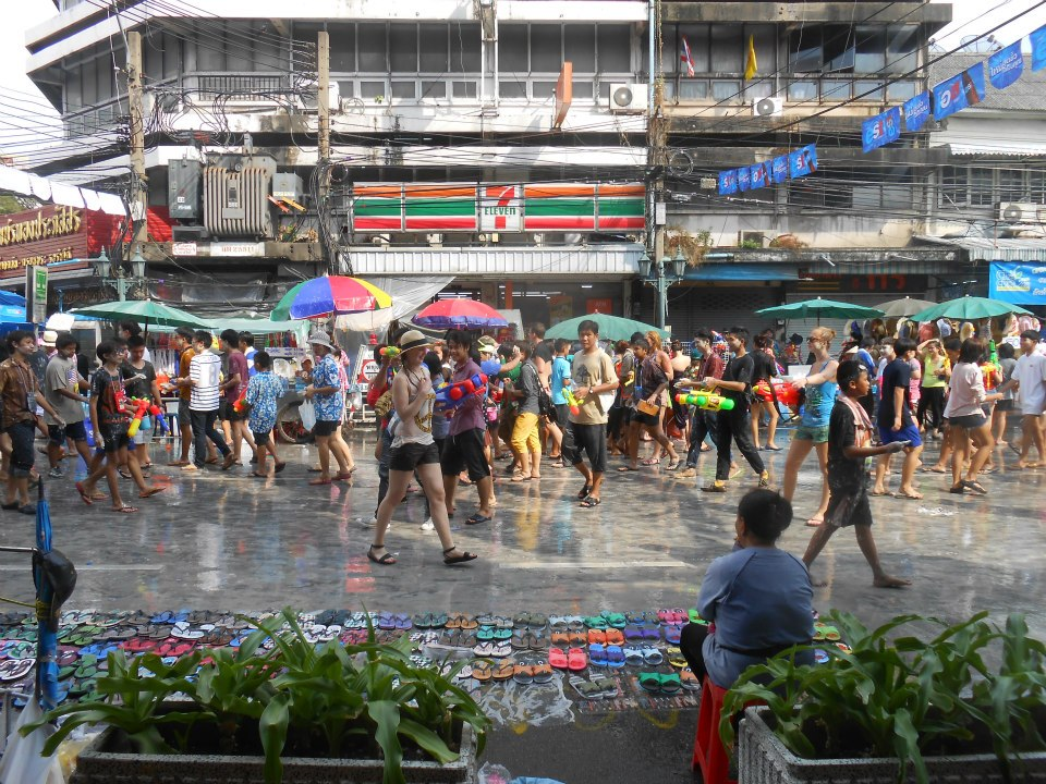 Craziness on the streets of Khao San Road