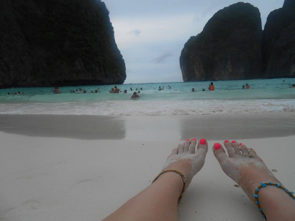 Maya bay. It really is beautiful.